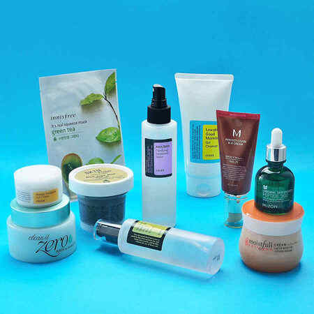 10 Step Korean Skin Care Set (Sensitive Skin)